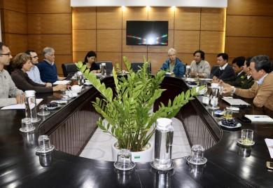 Sở Nông nghiệp và Phát triển nông thôn tỉnh Thừa Thiên Huế tiếp Đoàn đại diện Bộ Môi trường, Bảo tồn thiên nhiên và An toàn hạt nhân Cộng hòa Liên bang Đức (BMUB) tài trợ Dự án CarBi và WWF