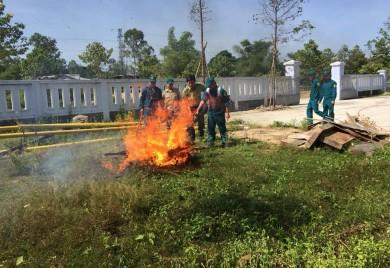 Hạt Kiểm lâm thành phố Huế chủ động  trong công tác phòng cháy, chữa cháy rừng năm 2018