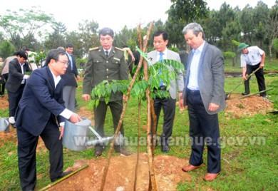 """Thừa Thiên Huế: Phát động """"Tết trồng cây đời đời nhớ ơn Bác Hồ"""""""