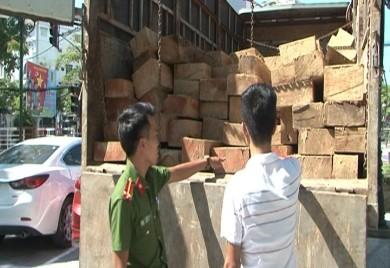 Xóa sổ cung đường vận chuyển gỗ trái phép qua A Lưới